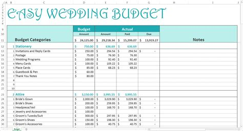 Wedding Budgets Template by Free Wedding Budget Excel Template Savvy Spreadsheets