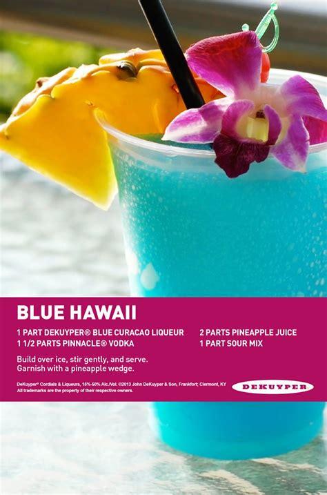 blue hawaiian blue hawaiian recipe