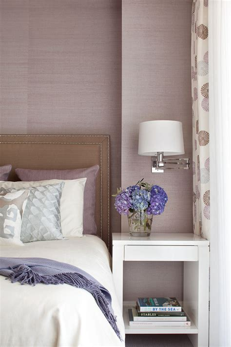 Lavender Wallpaper For Bedroom by Gray And Taupe With Orchid Lavender Grasscloth Wallpaper