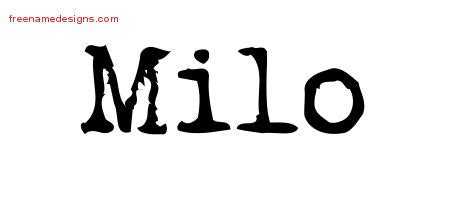 milo template milo archives free name designs