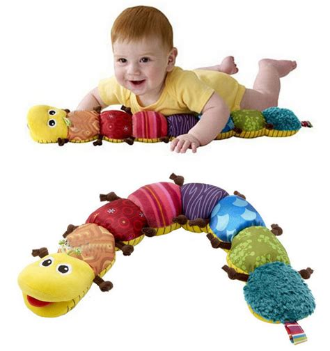 Kidsme Rattle Baby Worm T2909 2 baby soft baby rattle worm toys baby musical mobiles developmental lovely