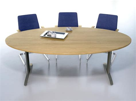 Oval Meeting Table Ambus Oval Boardroom Meeting Table Gwb