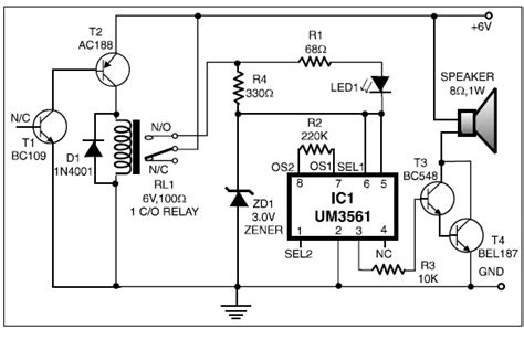 germanium transistor projects automatic heat detector project diagram and tutorials basic electronics projects and tutorials