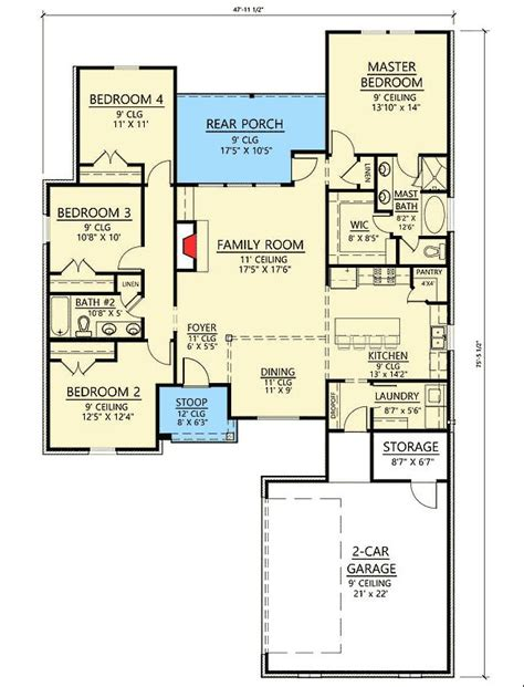 architectural designs acadian house plan 51742hz gives you 1000 ideas about acadian house plans on pinterest