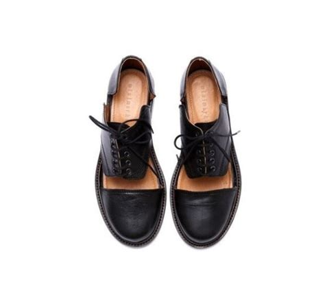 shoes like oxfords shoes oxfords cut out boots cut out ankle boots