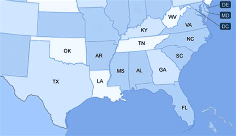 map of the south sales representatives in south carolina electrical enclosures
