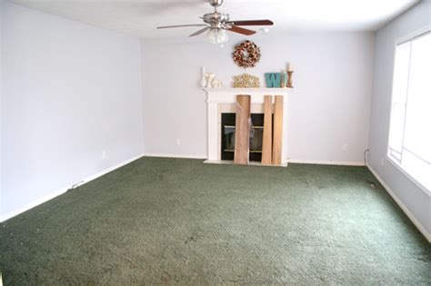 what color carpet goes with green walls telling stories house