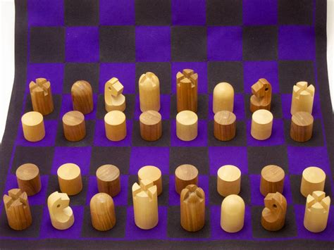 minimalist chess set minimalist chess set by carl aub 246 ck at 1stdibs