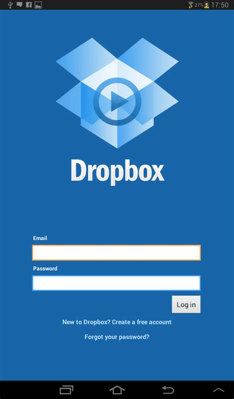 android layout login screen android dropbox like login stack overflow