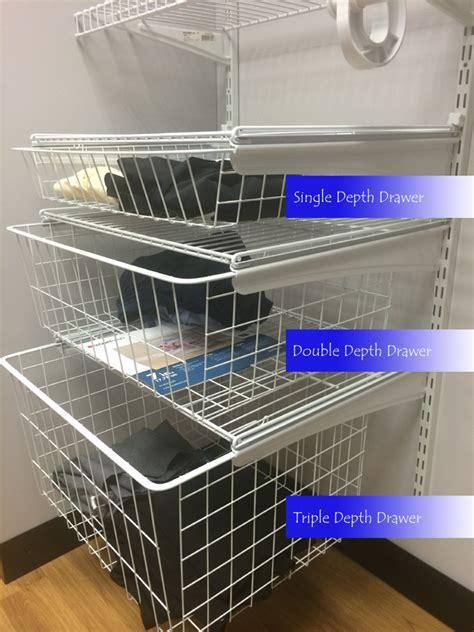 Closet Shelf Track by How To Add Shelftrack Drawers