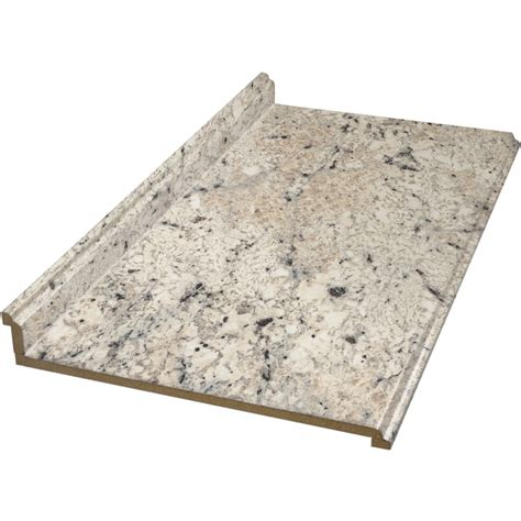 8 Ft Granite Countertops by Shop Belanger Laminate Countertops 8 Ft Ouro Romano