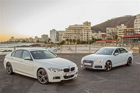 Audi A4 Vs Bmw 3 by Audi A4 2 0t Vs Bmw 320i 2016 Comparative Review Cars
