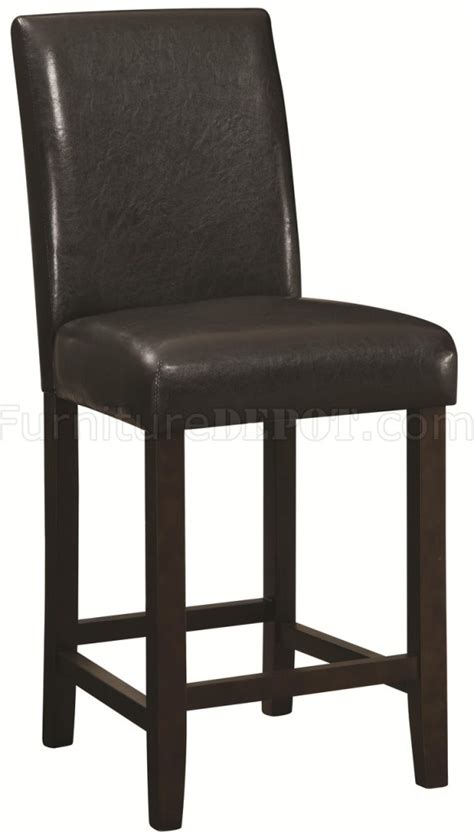 counter height chairs set of 4 130059 counter height chair set of 4 in brown by coaster