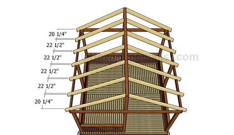 gazebo roof plans how to build a gazebo roof howtospecialist how to