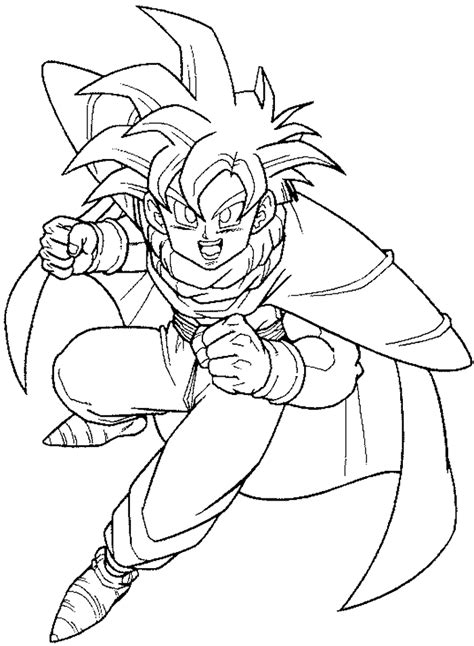 coloring pages of dragon ball z characters drawings of dragon ball z characters az coloring pages