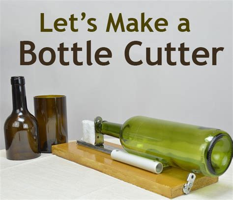 bottle glass cutter home depot diy glass bottle cutter