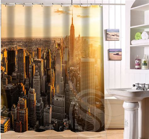 curtains nyc custom waterproof bath curtain new york city waterproof