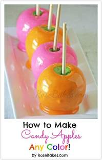how to make colored how to make apples any color bakes