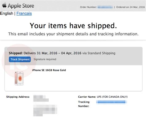 first iphone 6 pre orders shipping in canada as ups first iphone se 9 7 ipad pro pre orders have shipped in