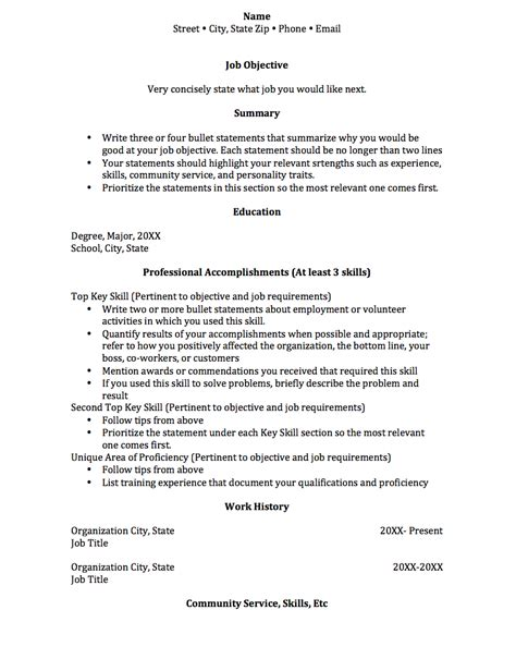 Academic Resume Sles by Functional Resume College Of Social And Behavioral Sciences Office Of Academic Services And