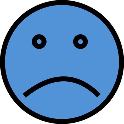sad clipart sad blue two clip at clker vector clip