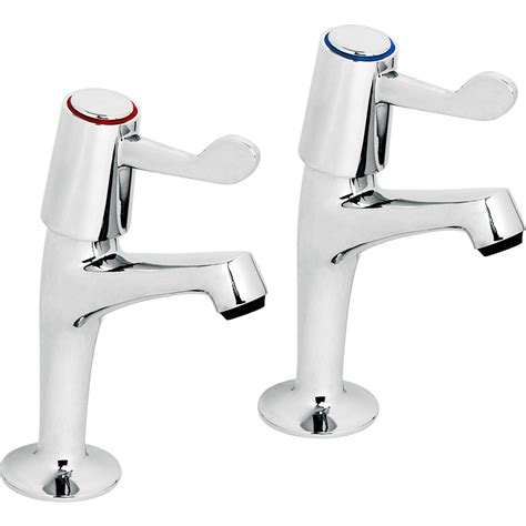 Kitchen Taps Pillar Mixer Taps Contract Kitchen Lever Sink Pillar Taps Toolstation