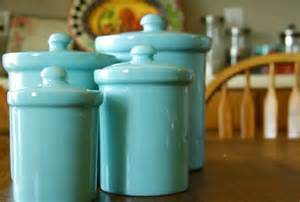 teal ceramic canisters 4 by sundayhatch on etsy fiesta turquoise canisters 62 00 hot kitchen tools