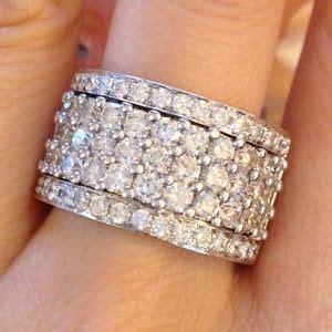 1000  ideas about Diamond Anniversary Rings on Pinterest