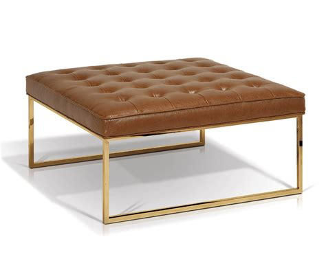 billings square ottoman coffee table decorium furniture