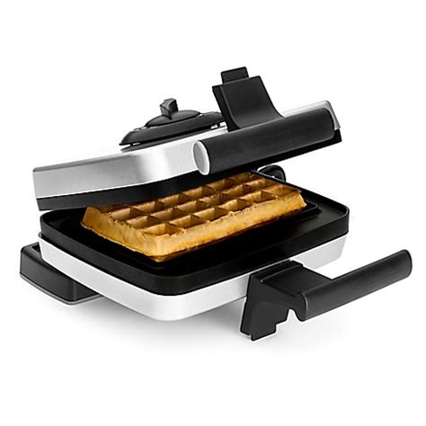 waffle maker bed bath and beyond croquade belgian waffle maker set www bedbathandbeyond com