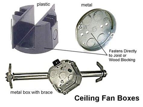 ceiling fan bracket box how to easily install a ceiling fan