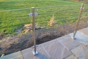 Handrail For Balcony Stainless Steel Amp Glass Balustrades 163 280 Per Metre Inc Vat