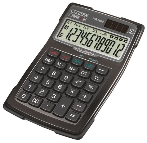 Citizen Calculator Sld 100n cpv 30141200 1 ean 4562195130352 calculators office