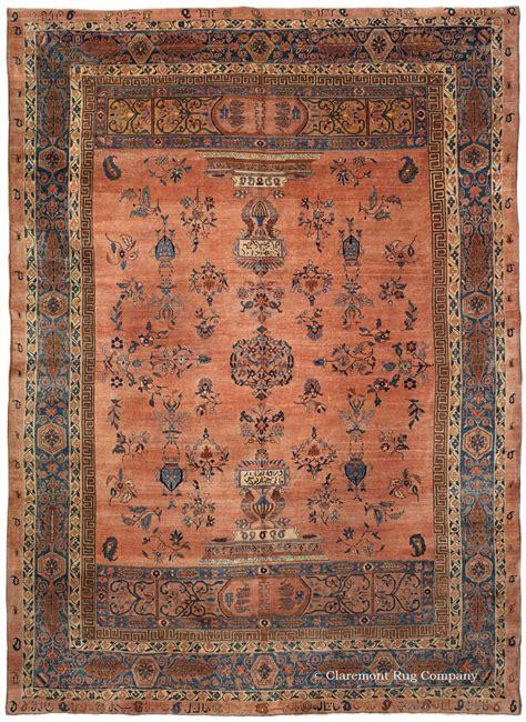 claremont rug 19th century ghazan sarouk room size carpet