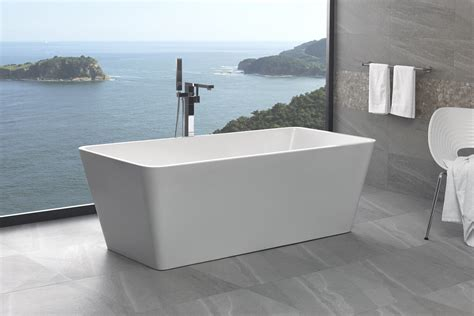 bathtubs australia 1700mm square free standing bath bathrooms on a budget