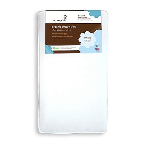 Naturepedic Organic Cotton Crib Mattress Buy Naturepedic 174 Organic Cotton Plus Crib Mattress From Bed Bath Beyond