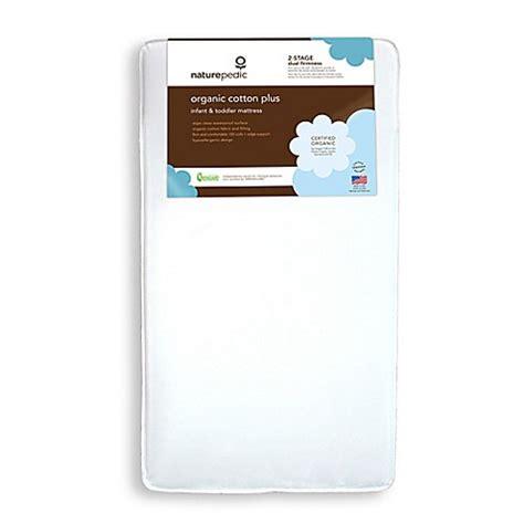 Naturepedic Organic Crib Mattress Buy Naturepedic 174 Organic Cotton Plus Crib Mattress From Bed Bath Beyond