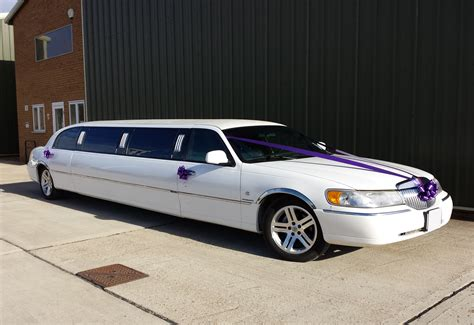 Wedding Car Limousine by Lincoln Town Car Limousine Prestige Classic Wedding Cars