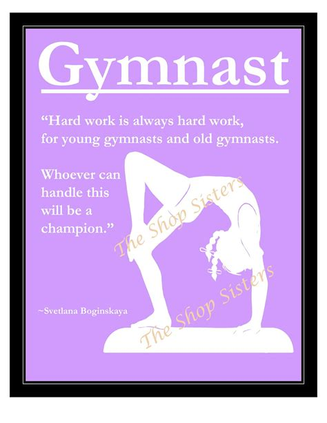printable gymnastics quotes gymnastics girl olympics silhouette purple and by
