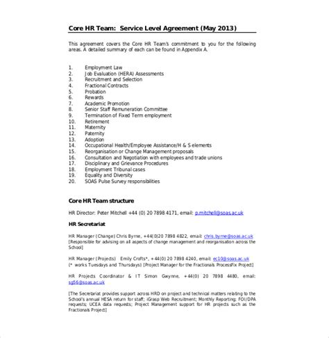 Cover Letter For Service Level Agreement Cover Letter For Consulting Agreement