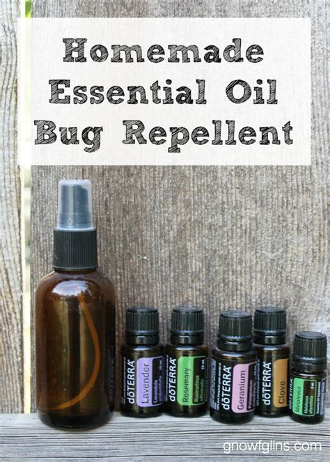 diy insect spray bug repellent with essential oils recipe