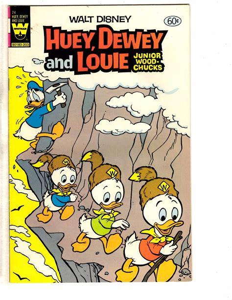 Lot Of 5 Huey Dewey & Louie Gold Key Whitman Comic Books ...