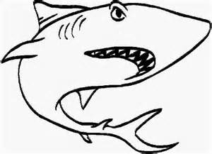 white shark coloring pages 4713