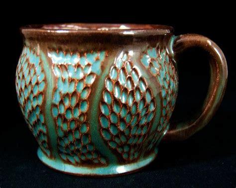 ceramic mug design ideas 18 best my textured pottery texturing slip trailing