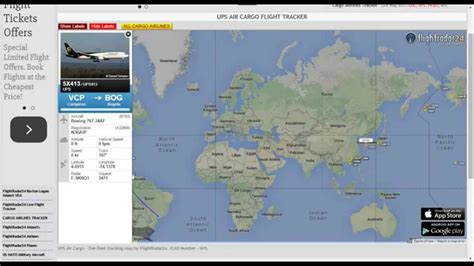 ups air cargo tracking