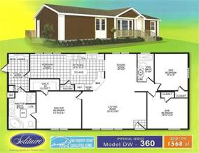 Floor Plans For Trailer Homes by Double Wide Floorplans Manufactured Home Floor Plans