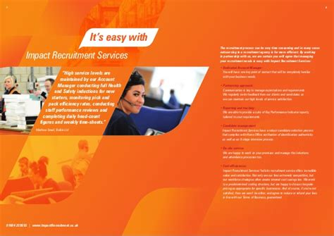 Recruitment Agency Brochure images