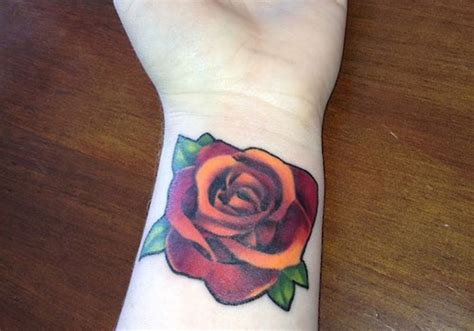 small rose tattoo on wrist 52 wrist tattoos