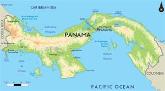 Panama Canal On World Map by Around The World With Uncle Moose Through The Panama Canal