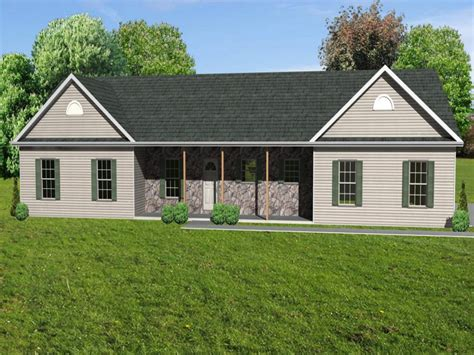 rancher style house plans small house with ranch style porch unique ranch house